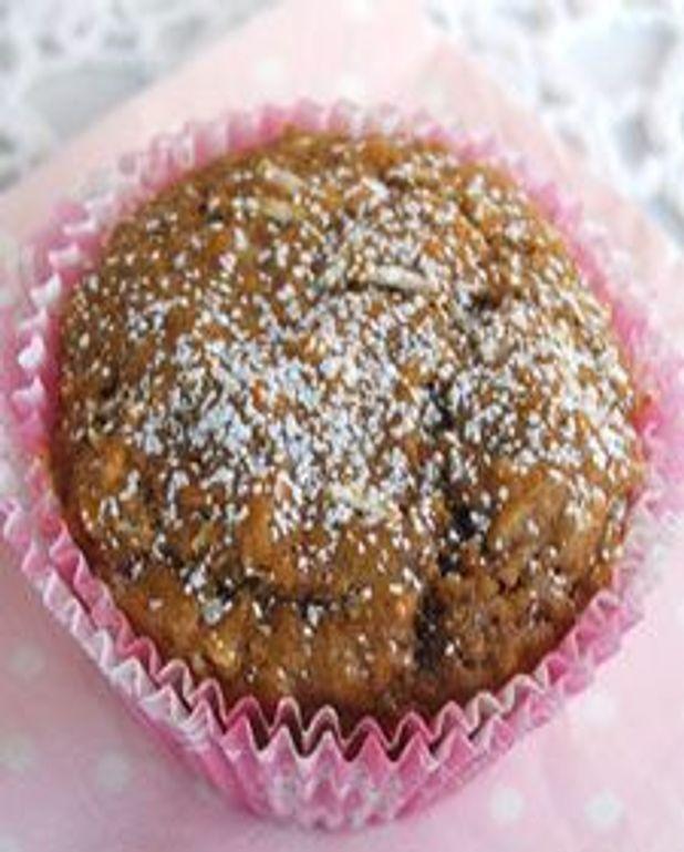 Muffins aux bananes, café et noix de coco