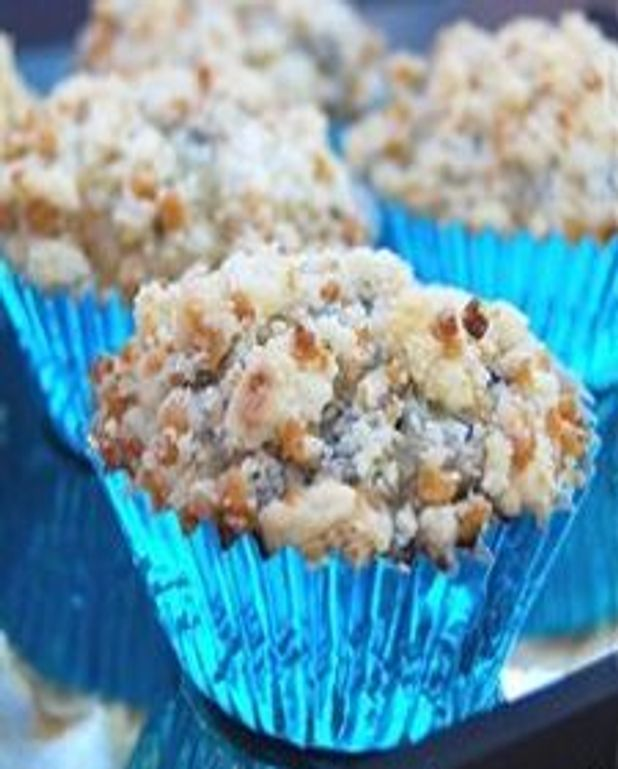Muffins aux bleuets et au sucre d'érable