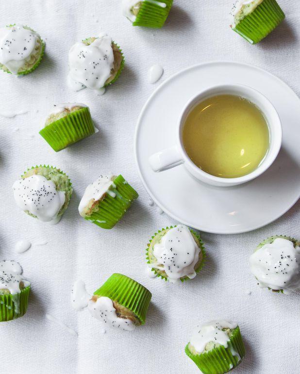 Muffins aux courgettes et au pavot