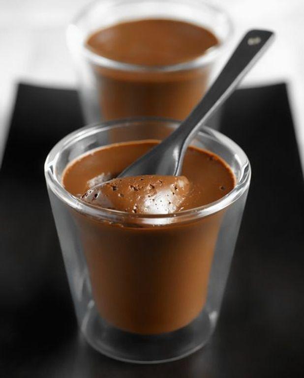 Nectar de moka au chocolat, granité au café