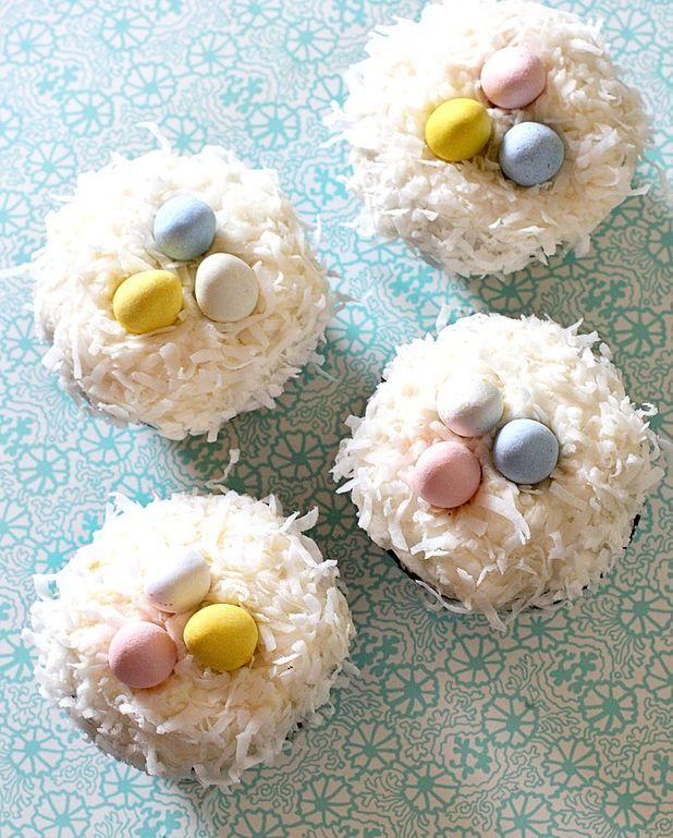 Nid de Pâques au yaourt