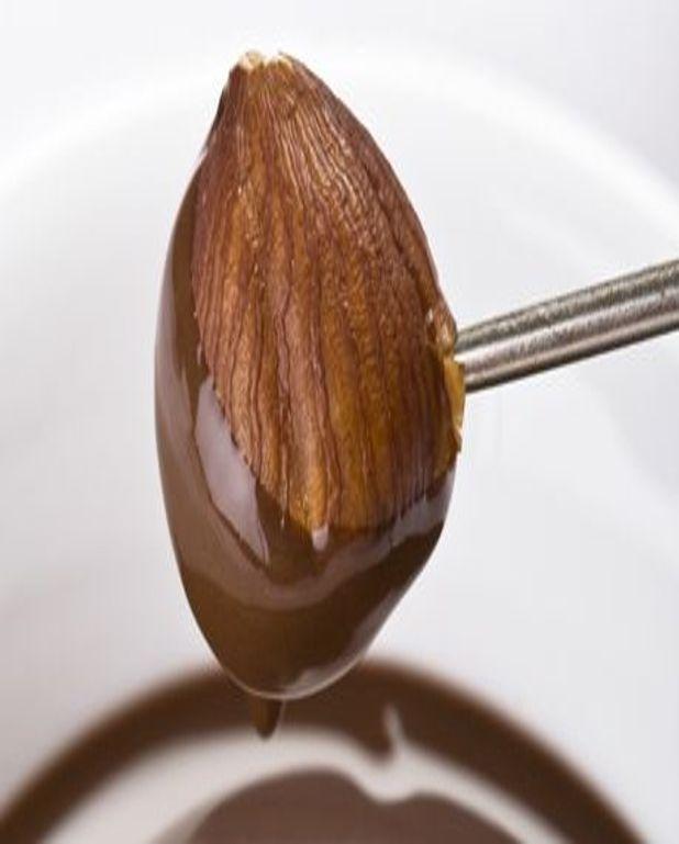 Noisettes et orangettes au chocolat