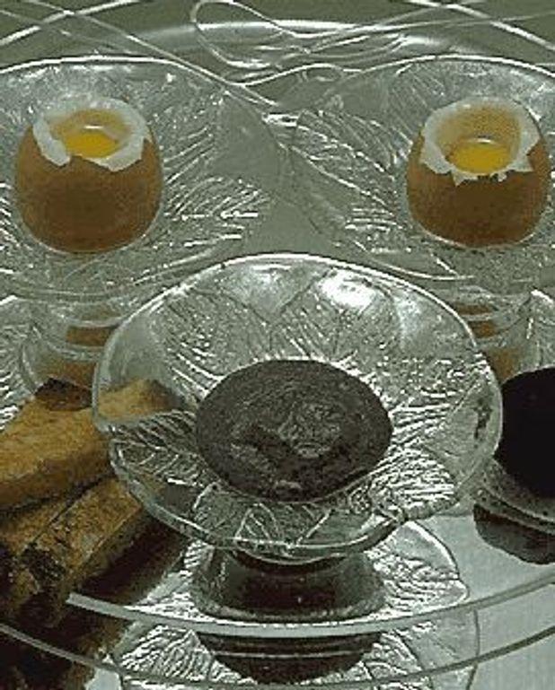 Oeufs aux truffes