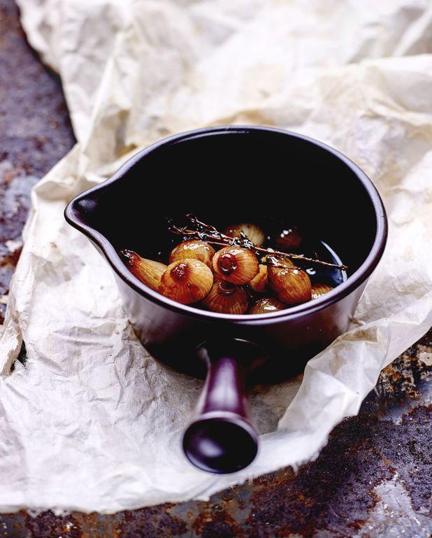 Oignons grelots à l'aigre-douce à l'italienne