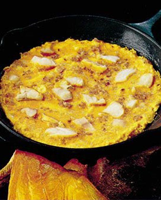 Omelette au haddock