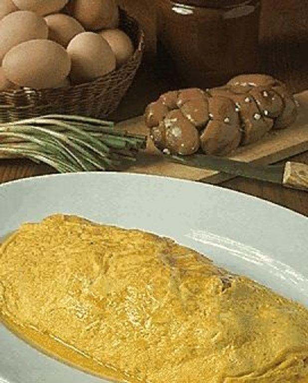 Omelette aux rognons