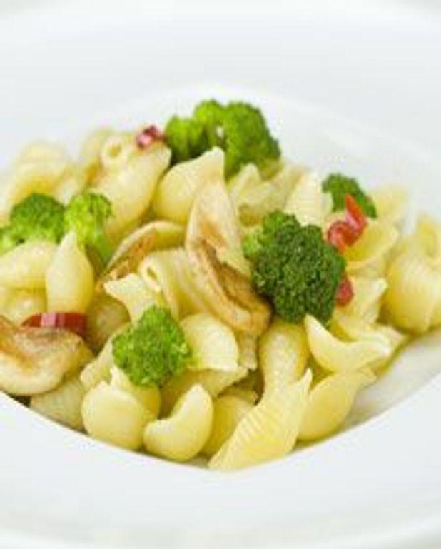Orecchiettes et brocolis pimentés