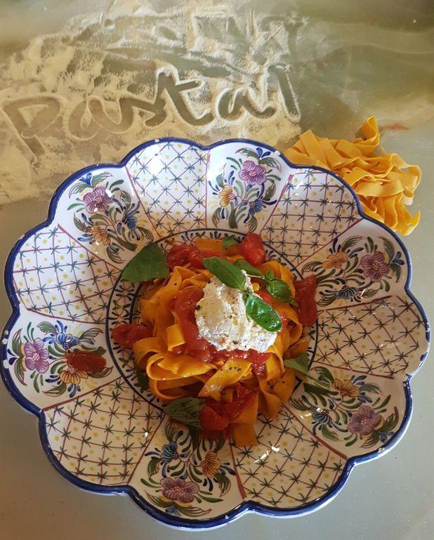 Original tomato aux Taglioni fraîches de chez Big Mamma