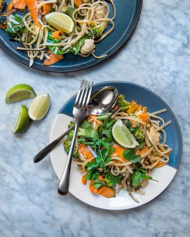 Pad thaï au poisson