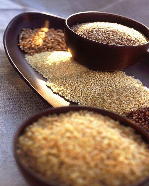 Paillassons de céréales
