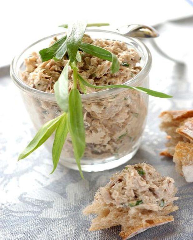 Pain à la salade de thon