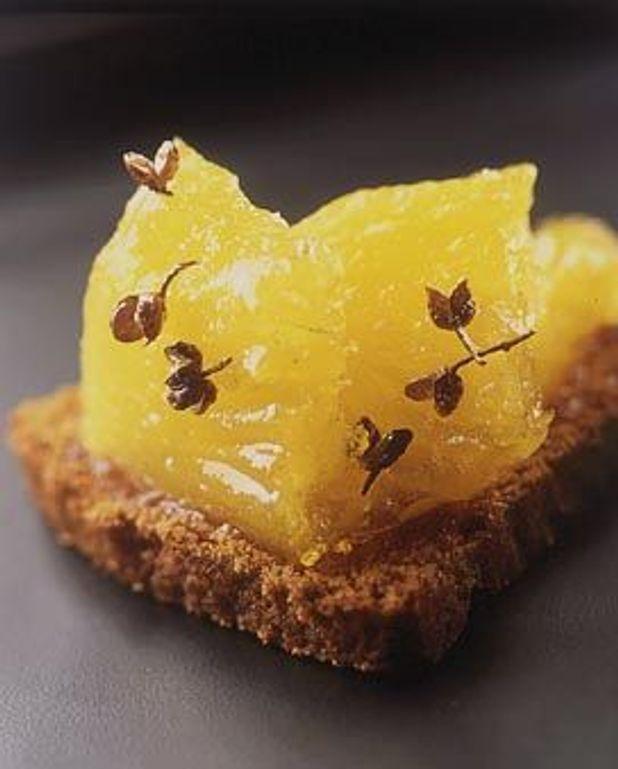 Pain d'épices à l'ananas anisé