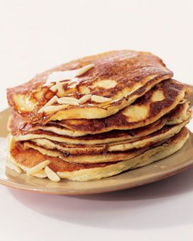 Pancakes à la ricotta et aux amandes