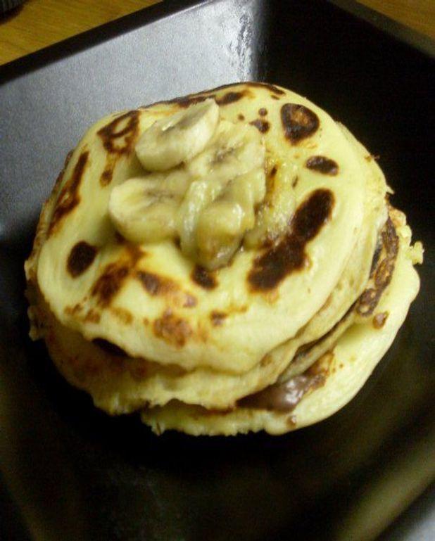 Pancakes Nutella-banane