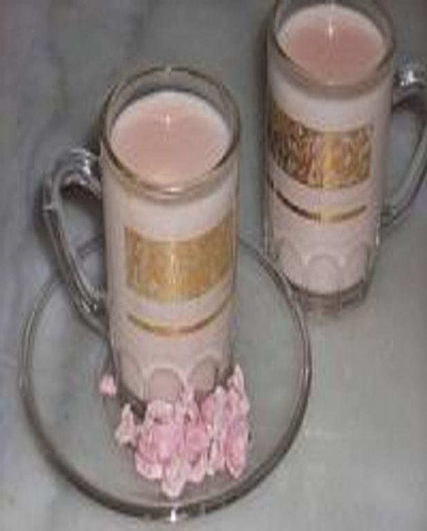 Panna cotta rose bonbon