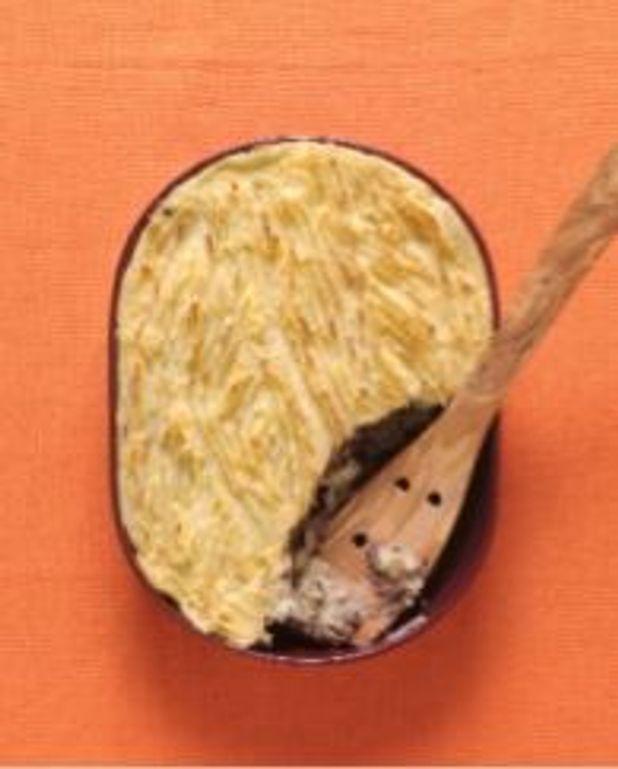 Parmentier bœuf-pommes de terre