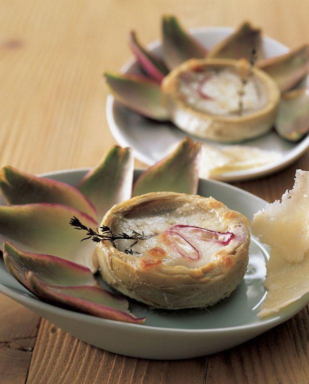 Parmigiane d'artichauts