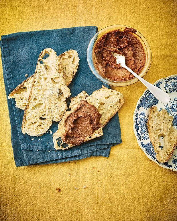 Pâte à tartiner aux pois chiches et chocolat