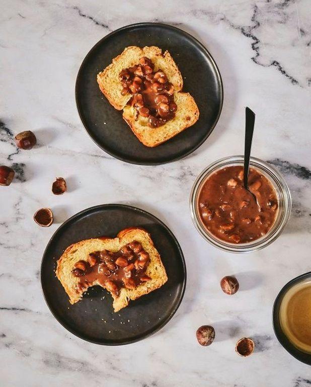 Pâte à tartiner croquante chocolat au lait et noisettes