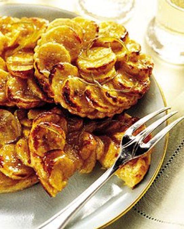Petites tartes aux bananes