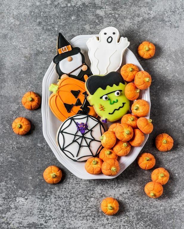 Petits biscuits d'Halloween