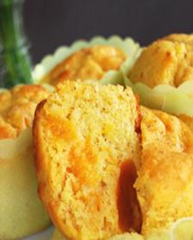 Petits gâteaux aux abricots et amandons