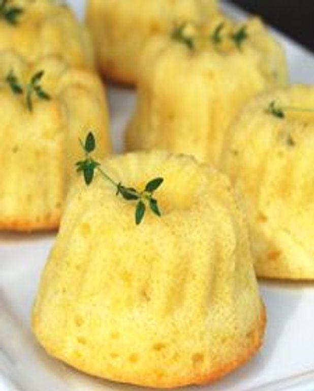 Petits gâteaux thym-citron