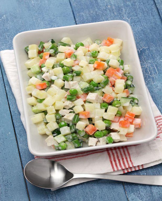 Petits legumes façon macedoine