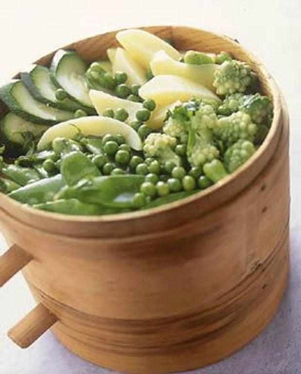 Petits légumes vinaigrette
