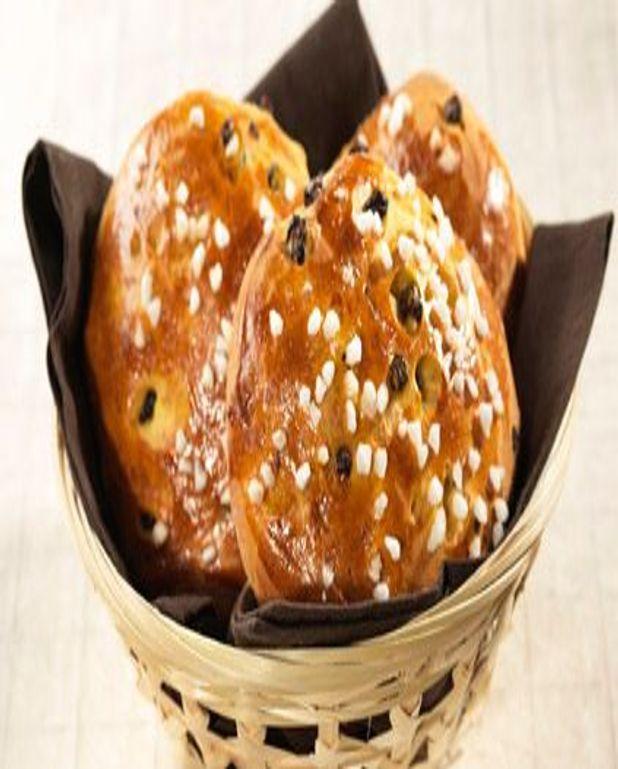 Petits pains aux épices et à la fleur d'oranger
