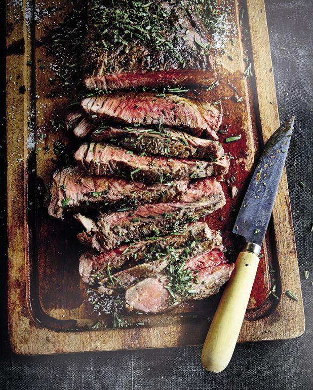 Pièce de bœuf grillée