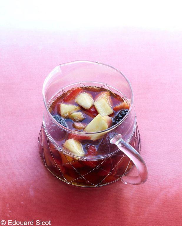 Pimm's aux fruits de fin d'été