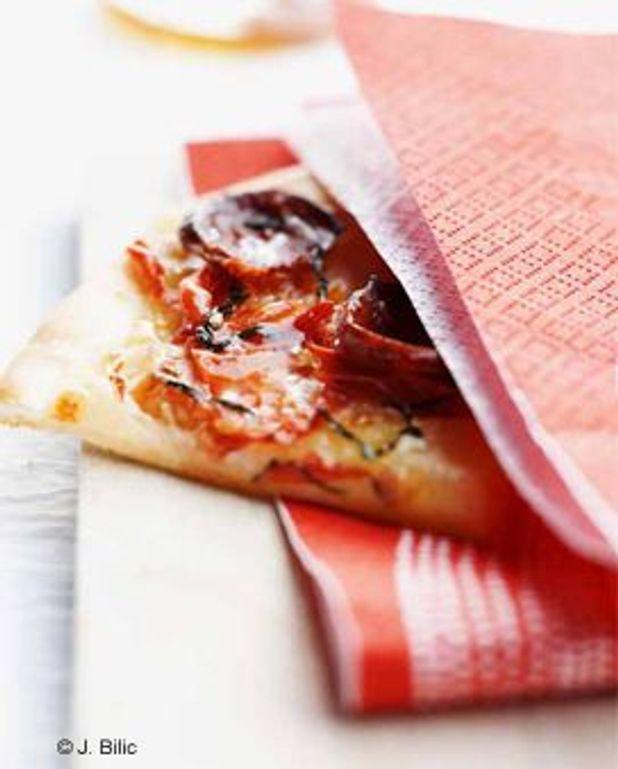 Pizzette chorizo
