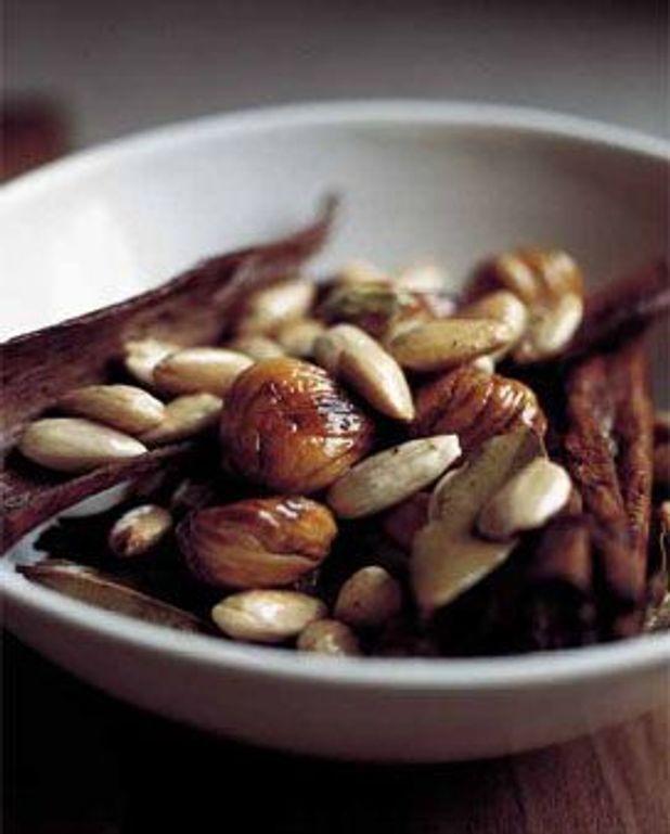 Poêlée aux marrons, amandes et épices