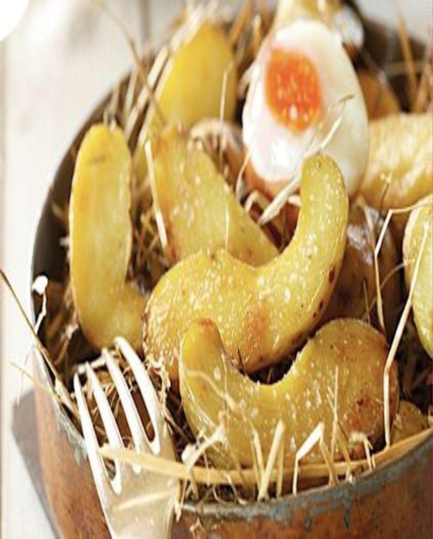Poêlée de pommes de terre et son oeuf