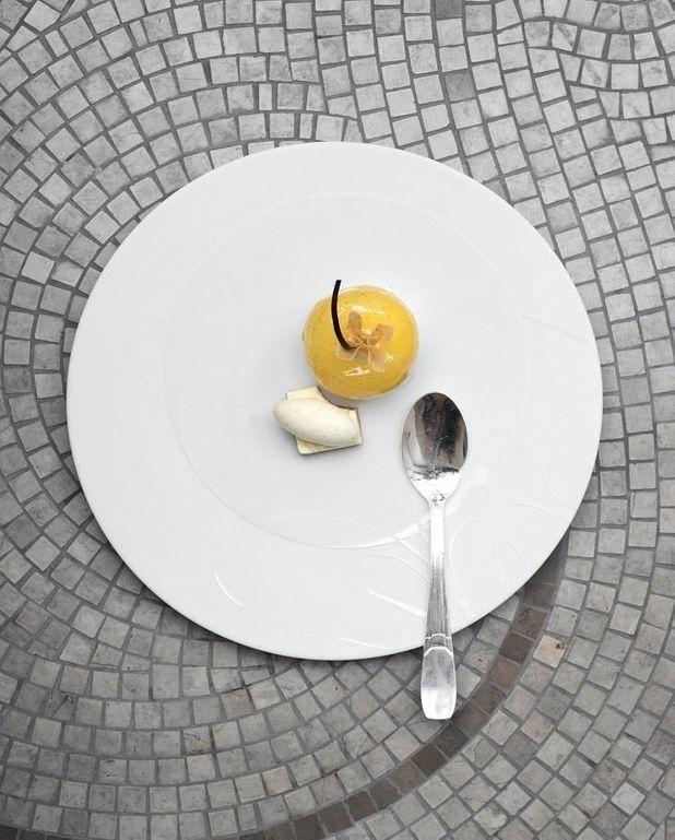 Pomme confite au gingembre