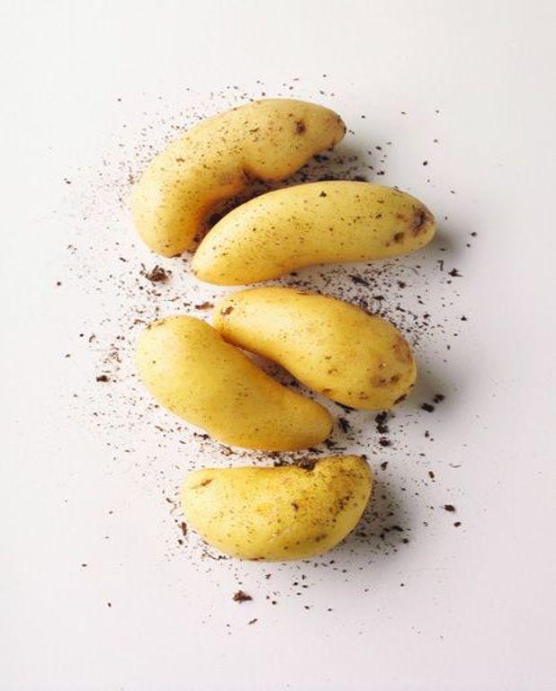 Pommes de terre à la russe au foie gras et œufs de truite