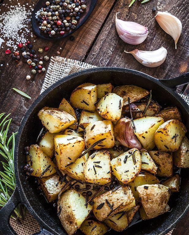Pommes de terre confites à la cocotte