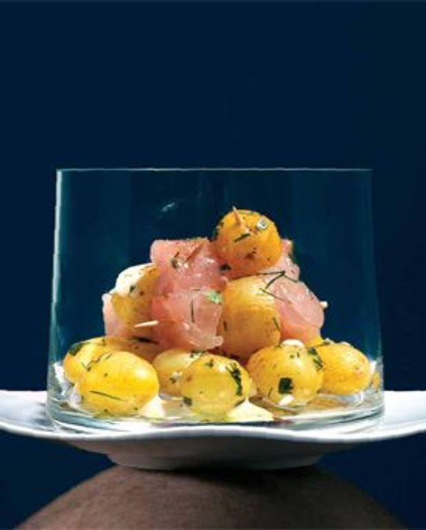 pommes de terre grenaille de l'île de Ré au raifort