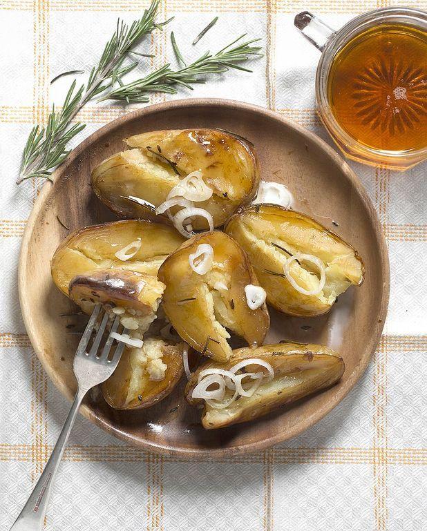 Pommes de terre sucrées-salées