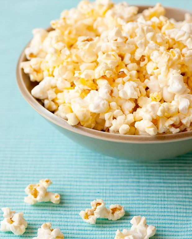 Pop-corn au caramel et sésame