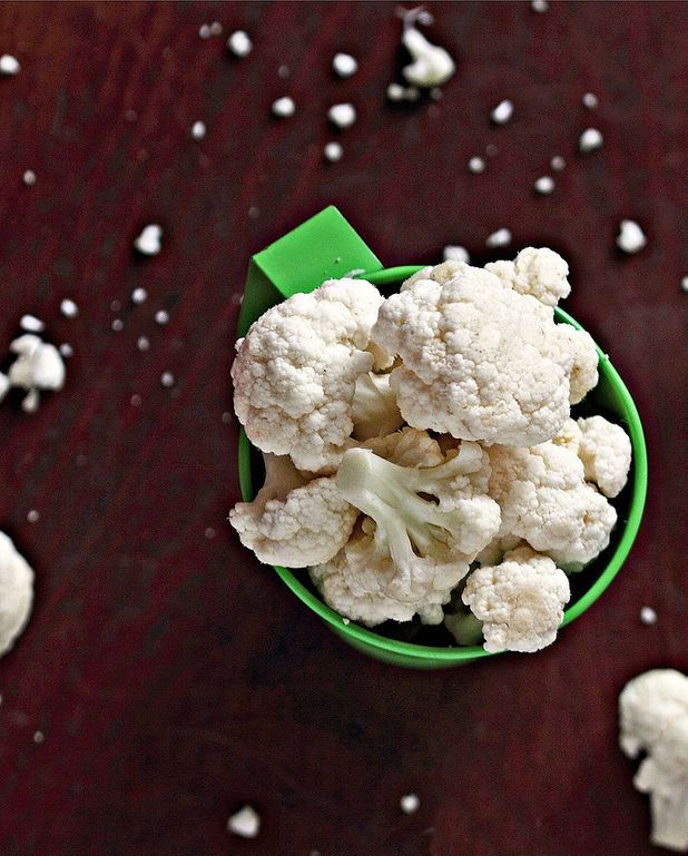 Pop-corn de chou-fleur épicé