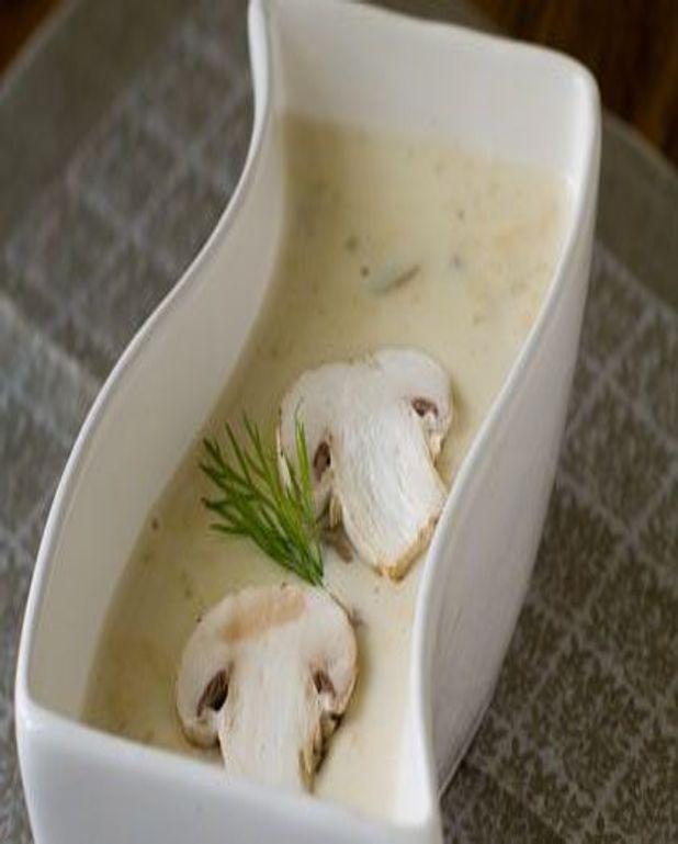 Potage aux champignons