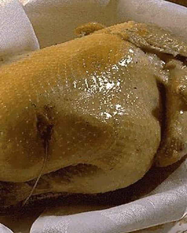 Poulet bresse cuit à la serviette