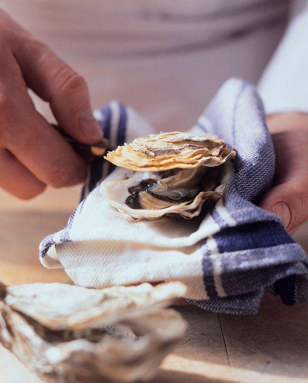 Pour ouvrir huîtres et coquilles St Jacques