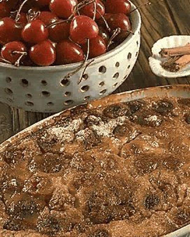 Pudding aux cerises