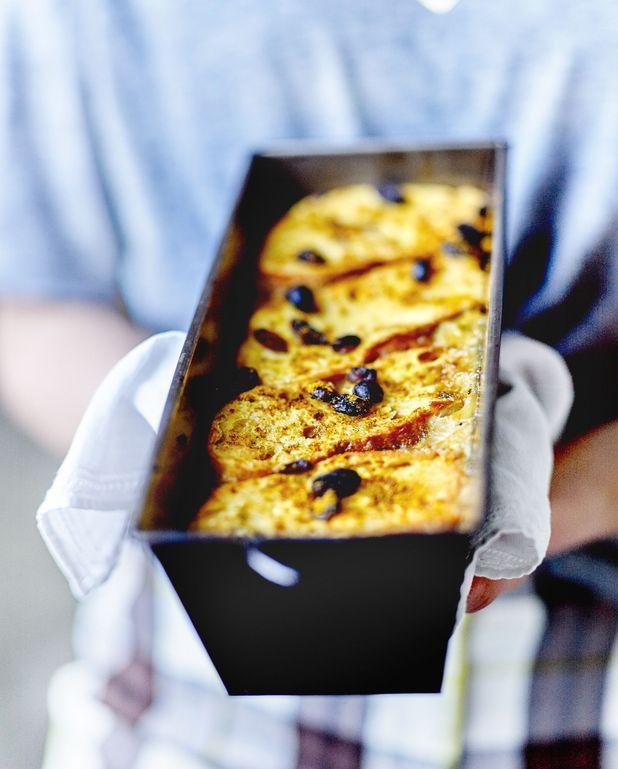 Pudding de pain aux légumes du midi