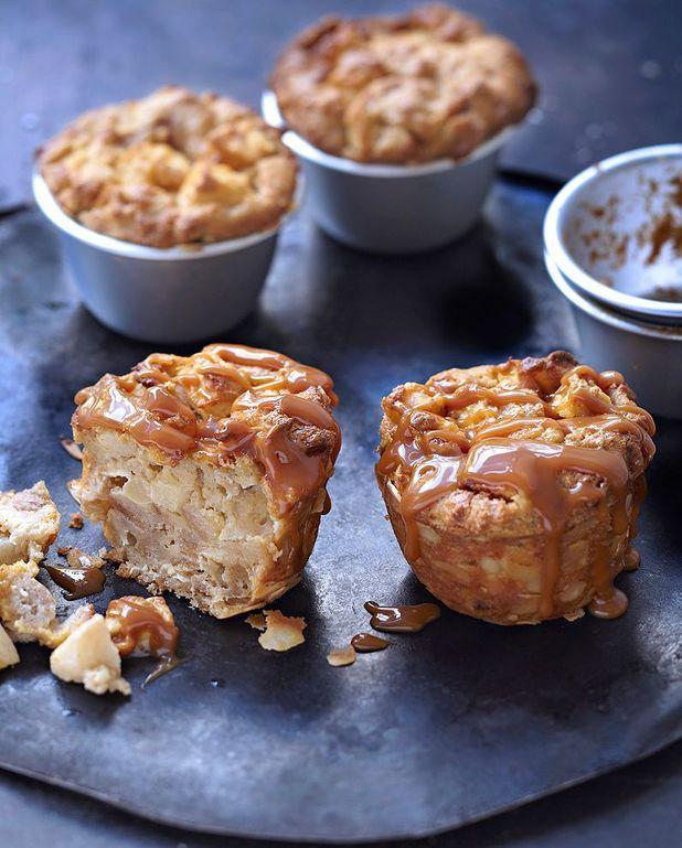 Puddings aux pommes