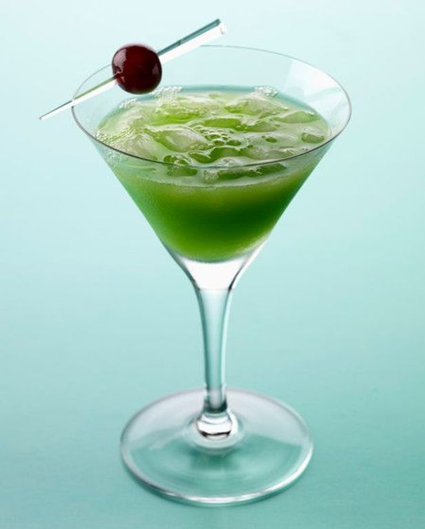 Cocktail punch au citron vert