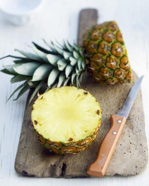 Quasi de veau, ananas, fenouil confit